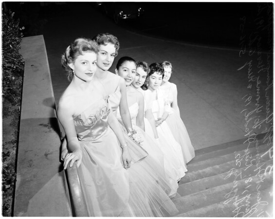 Nurse coronation ball at General Hospital, 1958