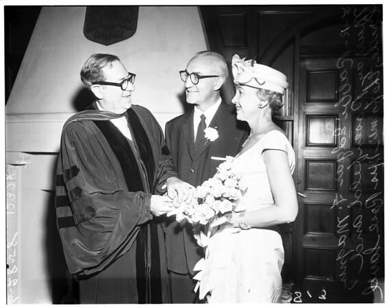 Rosenfeld -- Savel wedding, 1958