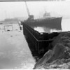 Harbor sinking and repairs, 1952