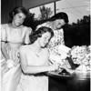 Valley Debs tea, 1958