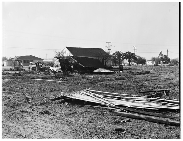 Tornado (at Normandie Avenue and 130th Street), 1954