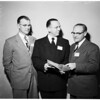 Ministers convocation (1954 Officers, University of Southern California), 1953