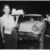 Night jobs feature (carhops), 1953