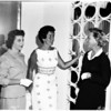 Women's Architectural League home tour story, 1958
