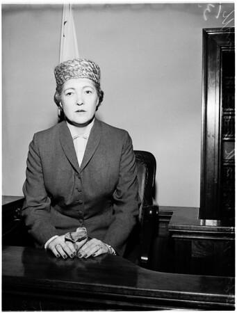 Maben divorce case, 1958