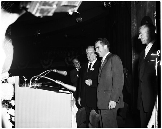 Nixon in Los Angeles, 1958