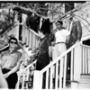Narcotics raid (marijuana taken in raid at 2236 Laurel Canyon), 1958