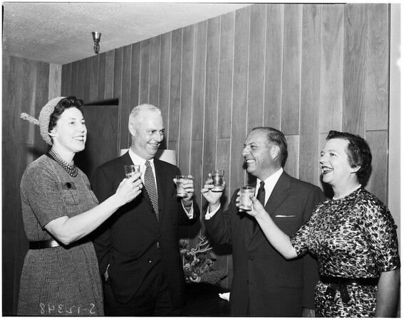 Mr. and Mrs. James McCarthy, 1958