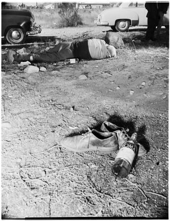 Dead body, 1952