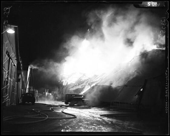 Metro-Goldwyn-Mayer studio fire, 1958