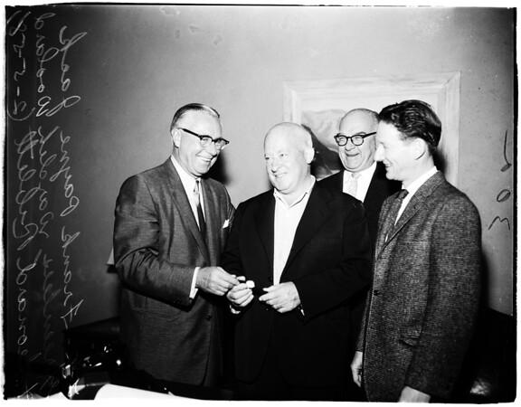 Greenless retires, 1958