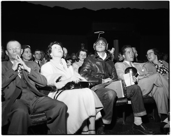 Griffith Park Observatory, trip to the moon, 1953.