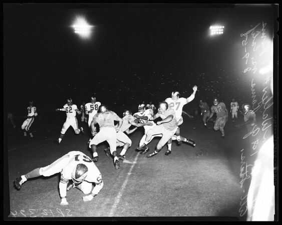 Football -- Rams versus California All Stars, 1958