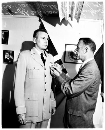 Caltech colonel, 1958