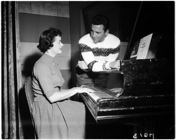 """King and I"" rehearsal, 1958"