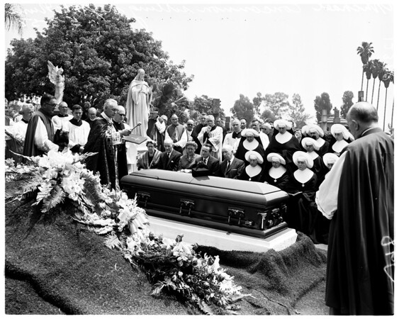 Funeral of Father Patrick J. Concannon, 1958