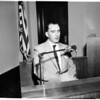 Inquest into killing of boy by Redondo Beach officer, 1958