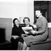 Gals planning alcoholism lectures, 1958