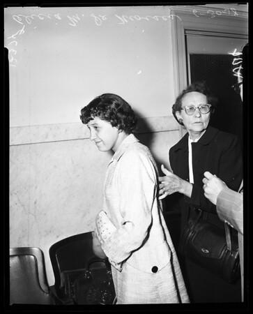 Child custody, 1958
