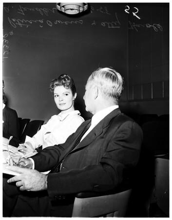 Owens divorce case, 1958