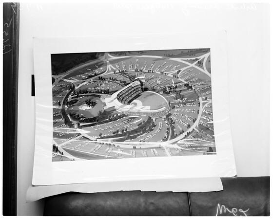 Dodger plot plan, 1959