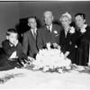 Sixtieth wedding anniversary, 1958