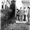 Woman murdered, 2839 West Eighth Street, 1958