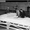 Griffith Park Observatory model (lunar crater model), 1952