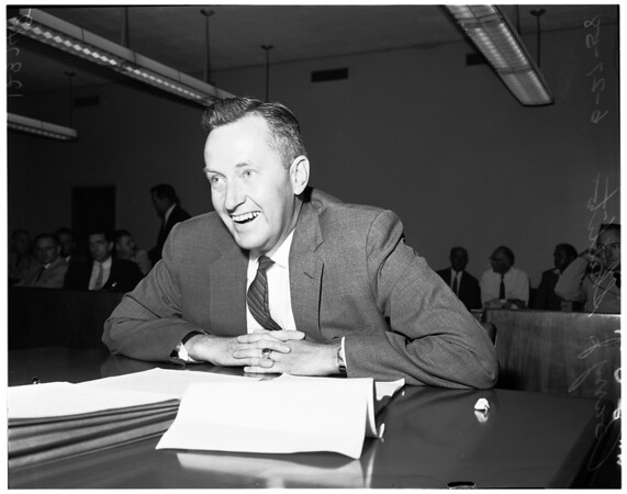 Small Business hearing, 1958