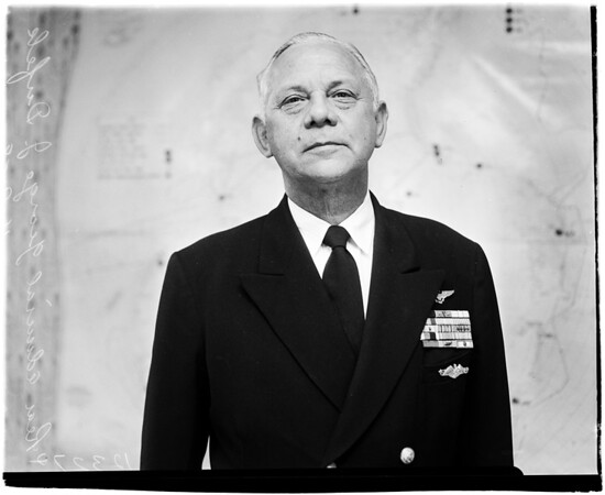 Legion of Merit presentation, 1958