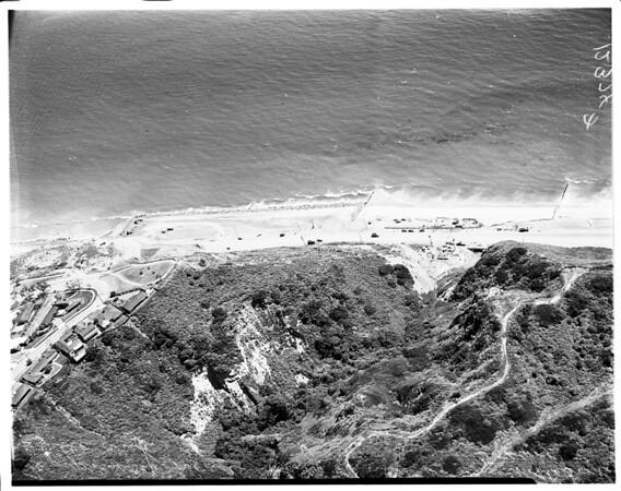 Temporary 101 Highway (air views), 1958