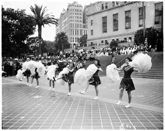 Music week at City Hall, 1958
