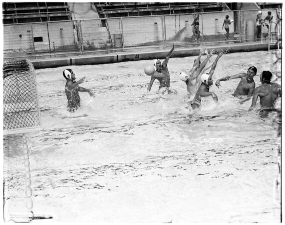 Water Polo -- El Segundo versus Whittier, 1958