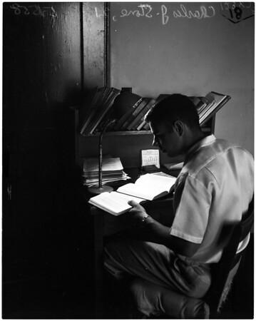 Math wizard from Caltech, 1958