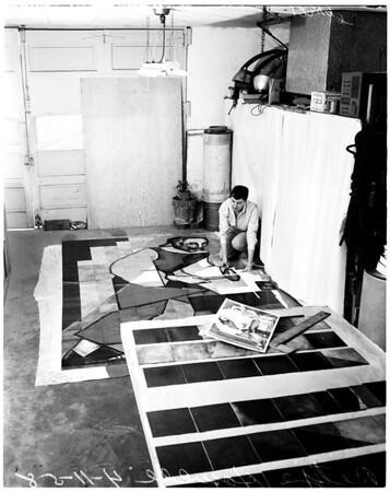 Artist, 1958.