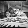 Chess contest, 1958