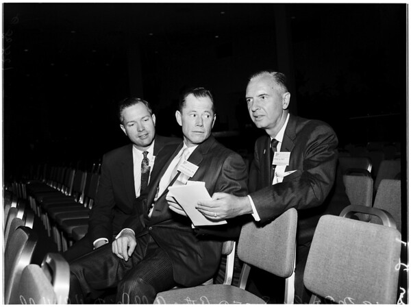 University of Southern California Dental Association meeting (alumni), 1958