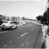Freewway cut off at Franklin Avenue and Cahuenga Boulevard and Vine Street, 1953