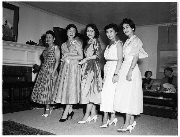 Nisei Week Queen contest, 1953