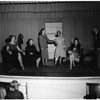 "Play rehearsal (Dionysians ""Sob Stuff"", South Pasadena), 1952"