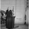City Hall dedication ceremonies, 1953