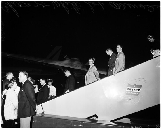 White Sox arrival, 1959