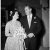 Carolina Winston wedding, 1952