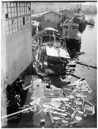 Yacht explosion, 1958