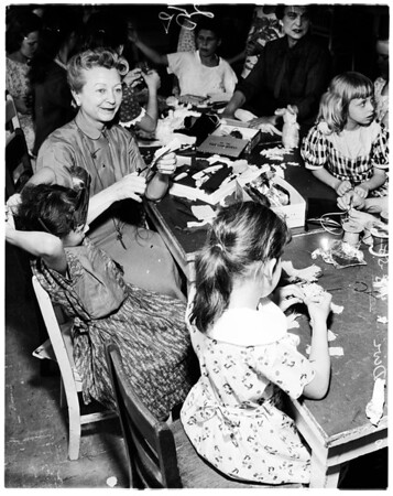 Mothers day at Juvenile Hall, 1958