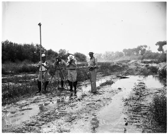 Whittier Narrows (dam), 1953
