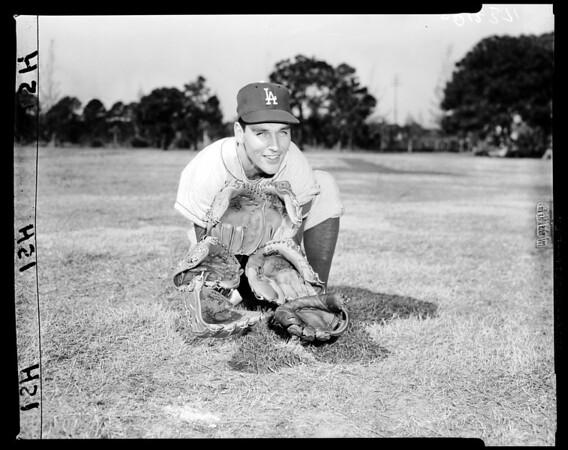 Baseball Dodgers at Vero Beach, 1958.