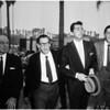 Harry Einstein funeral (Parkyarkarkus), 1958