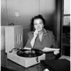 Jewish Center Musical head,  1958