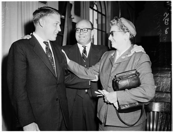 Ciro's scotch trial (Shubert), 1955